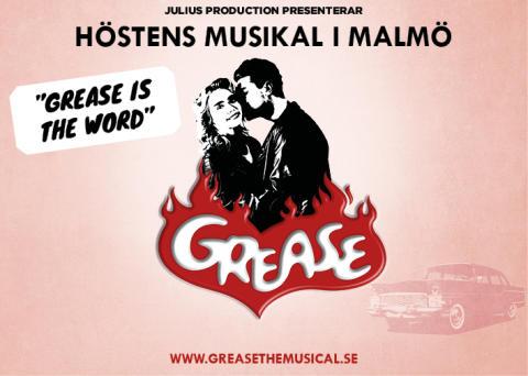 Vem  är Sandy och Danny i Musikalen Grease på Nöjesteatern?