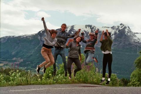 Millenials unterwegs in Norwegen