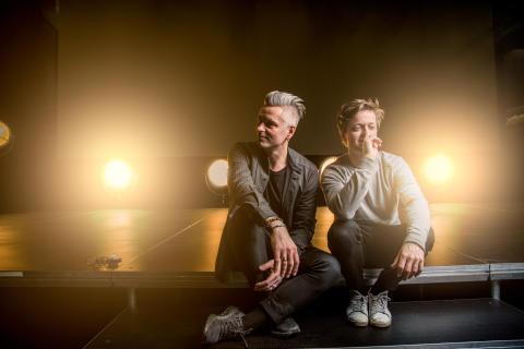 Janove Ottesen og Christian Eriksen