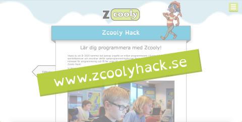 Ny hemsida för Zcooly Hack!