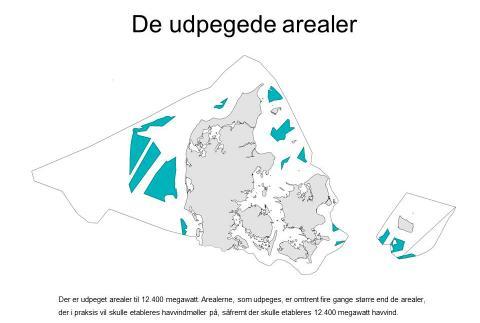 Danmark rummer kæmpe potentiale for havvind: Her kan fremtidens parker ligge