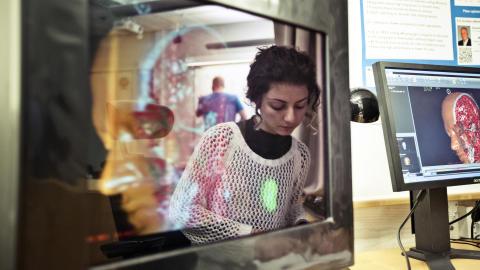 Mittuniversitetet utbildar framtidens forskningsledare i 3D-teknik