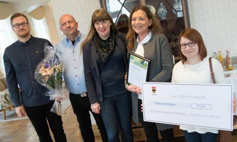 Örebro kommuns interna miljöpris 2017, prisceremoni