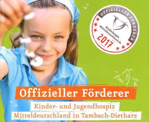 EuroLam macht sich stark für das  Kinder- und Jugendhospiz Mitteldeutschland