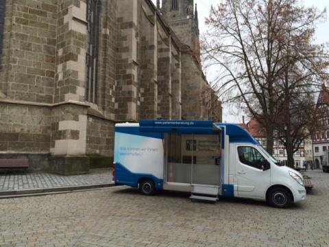 Beratungsmobil der Unabhängigen Patientenberatung kommt am 10. Mai nach Nördlingen.