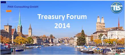 Treasury Forum 2014 von TIS und PAN Consulting in Zürich
