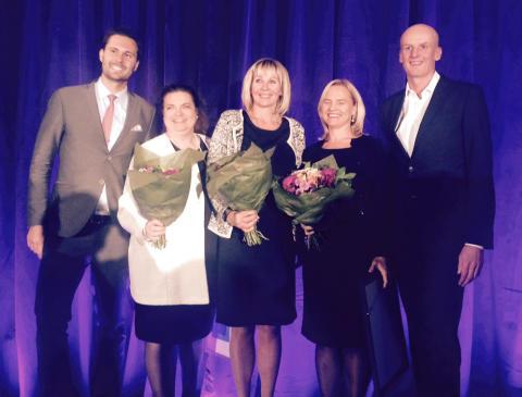 Lilian Fossum Biner vann Women's Board Award
