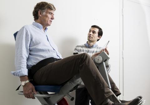 Träning på distans ska hjälpa strokepatienter