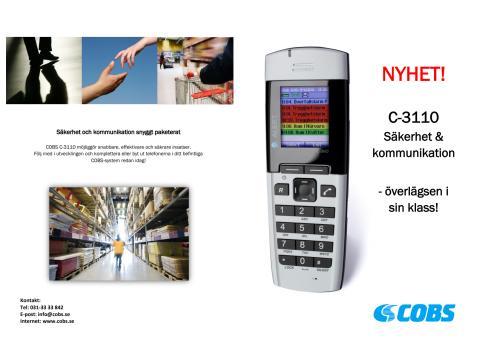 COBS C-3110 Säkerhet & Kommunikation - broschyr