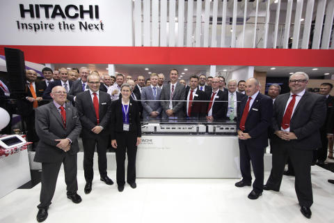 Hitachi Rail hosts Supplier Award event at InnoTrans 2014