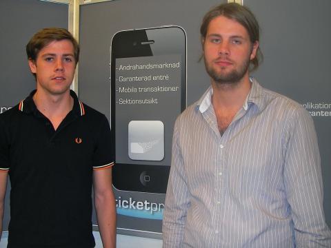 Slut på biljettkaoset – studenter från Högskolan i Halmstad har lösningen