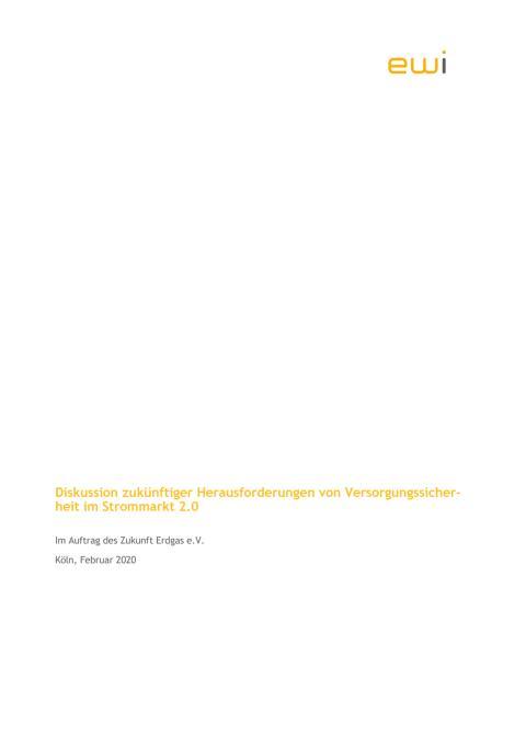 Diskussion zukünftiger Herausforderungen von Versorgungssicherheit im Strommarkt 2.0