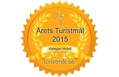 """""""Svenska folket har sagt sitt"""" - Gullmarsstrand Årets Turistmål 2015 i kategorin hotell"""