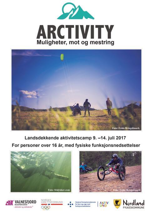 Brosjyre Arctivity 2017