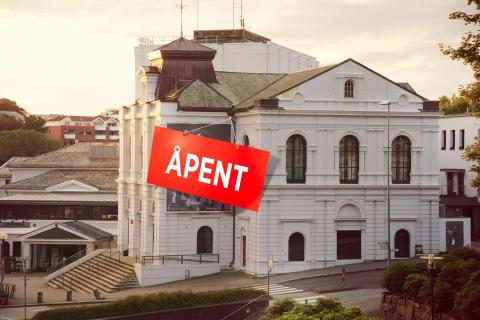 Rogaland Teater restarter teatersesongen 18. mai med ungdommelig pågangsmot!