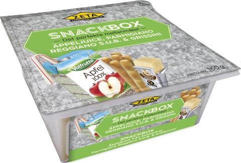 Produktbild Zeta Snackbox med äppeljuice