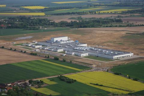 Fabriken i Stargard, Polen
