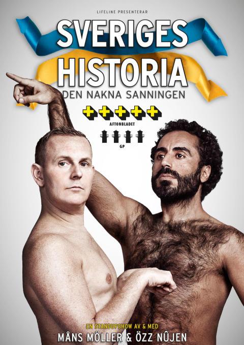"""Missa inte """"Sveriges Historia - den nakna sanningen"""" på SVT 2 lördag kväll kl. 19.00"""