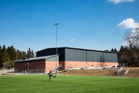 Storvretas nya idrottshall