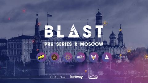 Press accreditation for BLAST Pro Series Moscow