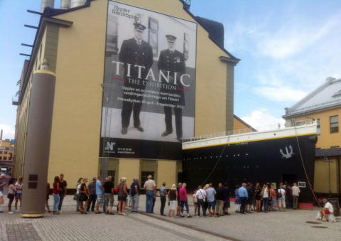 Stort intresse av Titanic – The Exhibition
