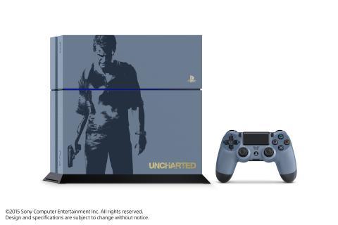 Specialutgåva av PlayStation®4 inspirerad av Uncharted™4: A Thief's End släpps den 27 april