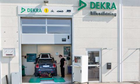 DEKRA Bilbesiktning - vår nya samarbetspartner