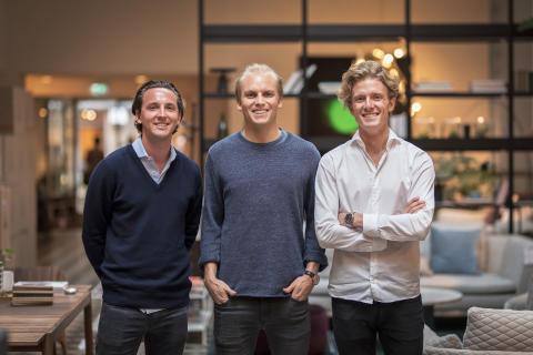 Per, Axel och Rickard