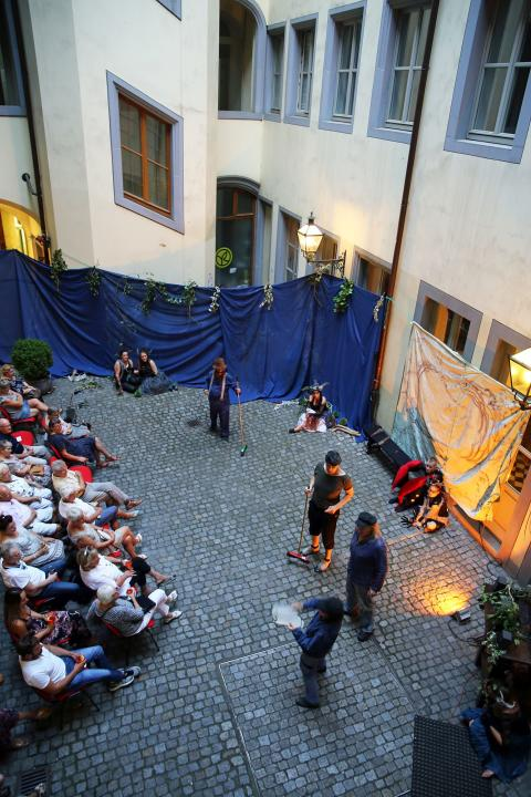 Sommertheater im Webers Hof - Ein Sommernachtstraum
