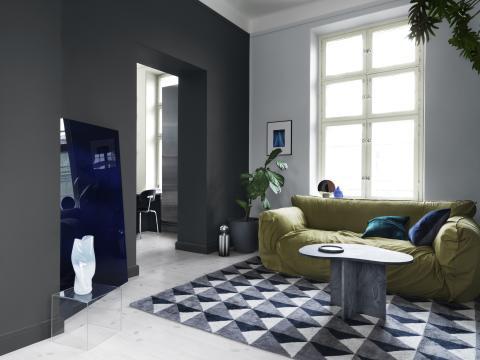 ad.white & grey vardagsrum - Alcro Färg
