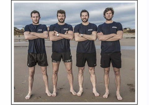 The Four Oarsmen: The Four Oarsmen to Challenge the Mighty Atlantic