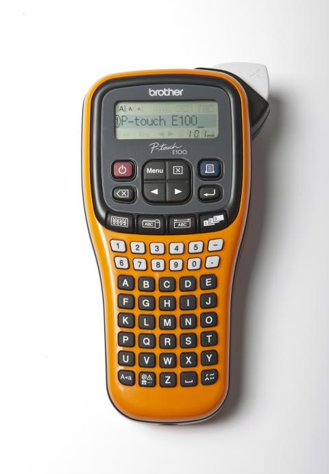 Popularna drukarka etykiet Borther PT-E100VP dostępna w promocyjnej cenie na targach Energetab