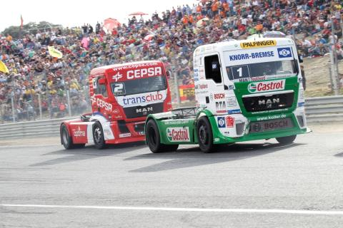 Castrol and Cepsa Trucks