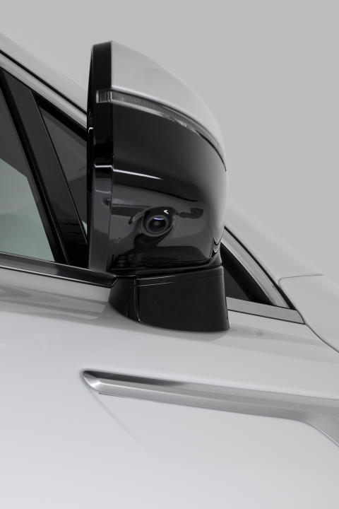 side mirror with camera