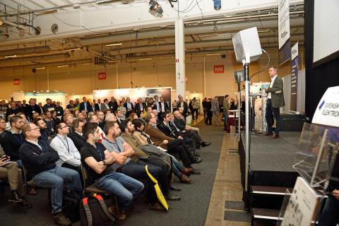 Konferensbild från ett tidigare Embedded Conference Scandinavia-evenemang