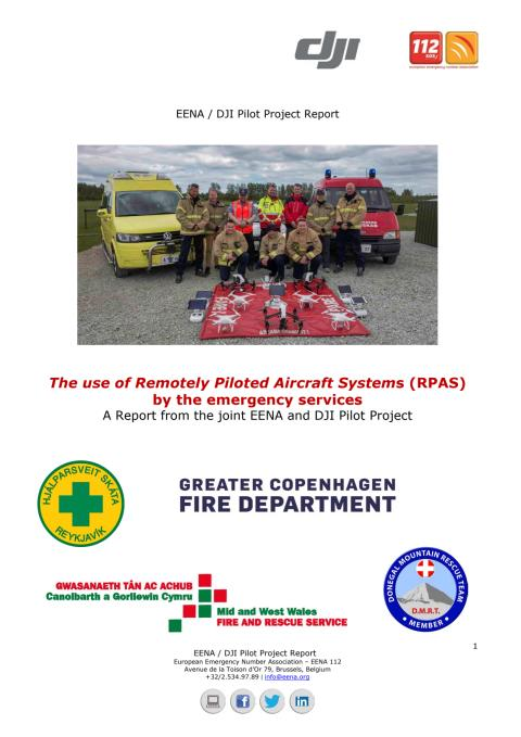The use of Remotely Piloted Aircraft Systems (RPAS) by the emergency services: