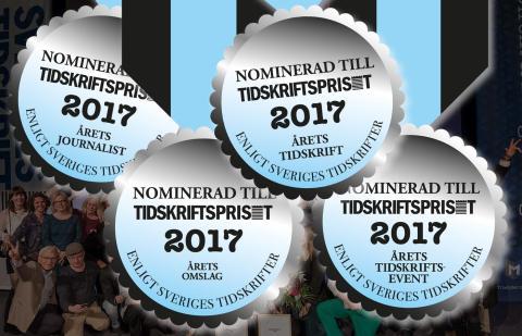 Klart vilka som nomineras till bland andra Årets Journalist och Årets Tidskrift