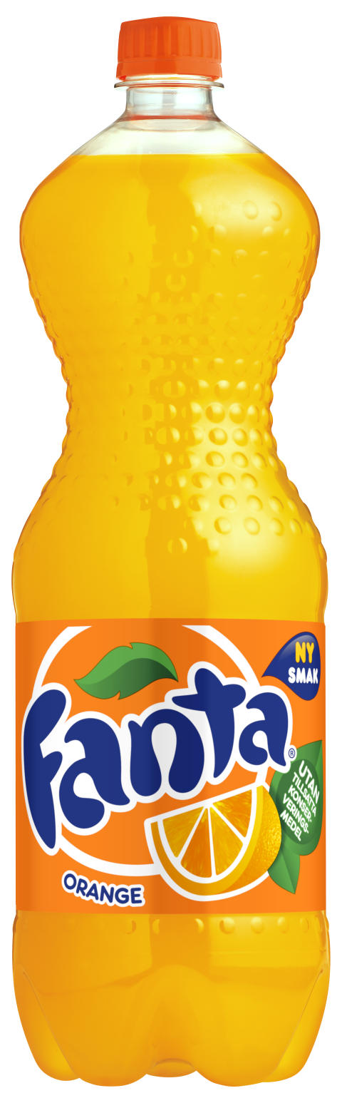 Nya Fanta orange – med bästa smaken någonsin