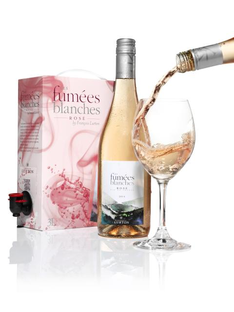 Les Fumées Blanches Rosé - Succéboxen i butik från 1 mars!