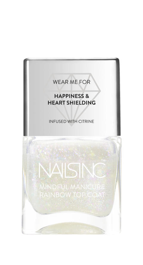 Nails Inc. Mindful Manicure - Good Vibes (Rainbow Top Coat)
