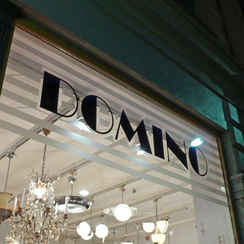 Fönsterdekor Domino