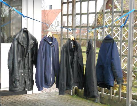 Bandkroken variera kläder