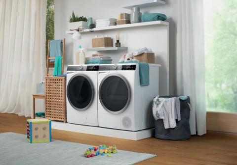 Säästä aikaa ja vaivaa Gorenjen uusilla WaveActive-sukupolven pesukoneilla ja kuivausrummuilla