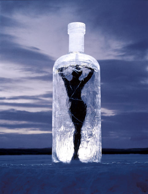 Message in a Bottle. Art or Ad?