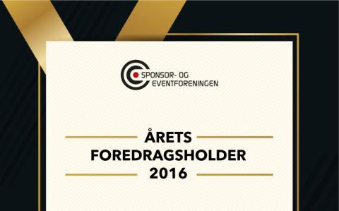 Tre finalister til årets foredragsholder