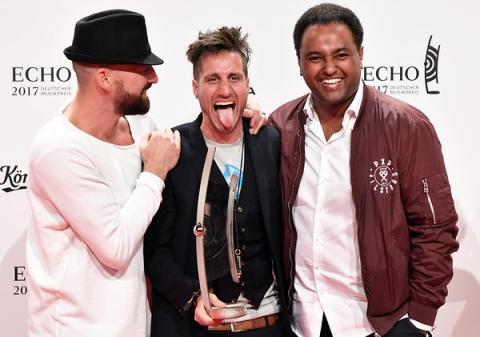 Michael Fitz mit Gentleman & Fetsum: Der Echo für soziales Engagement Viva con Agua