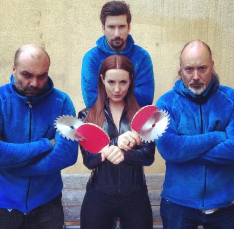 Efter fuskanklagelsen: Tumpa Ping Pong Show följer upp 'Miss Ping' med 'Miss Pong'