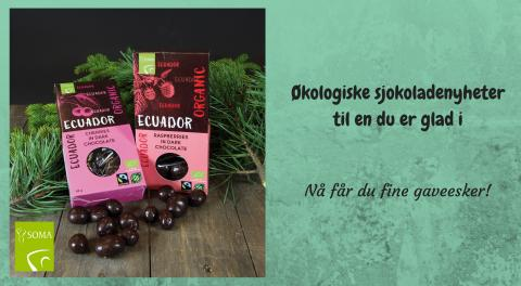 Økologiske sjokoladenyheter til en du er glad i