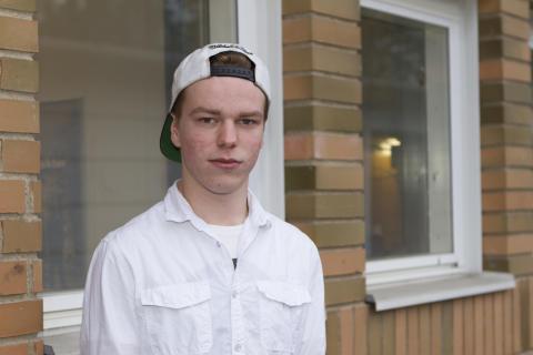 William Hedman, Lugnetgymnasiet, Falun (Sandviken)