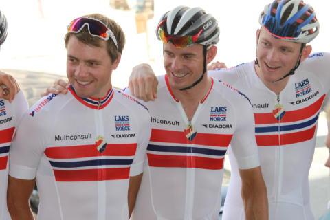 Kristoff og Boasson Hagen under sykkel-VM